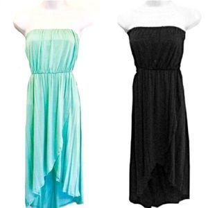 Both for $48! NWOT! Hi-Low Strapless Dresses!